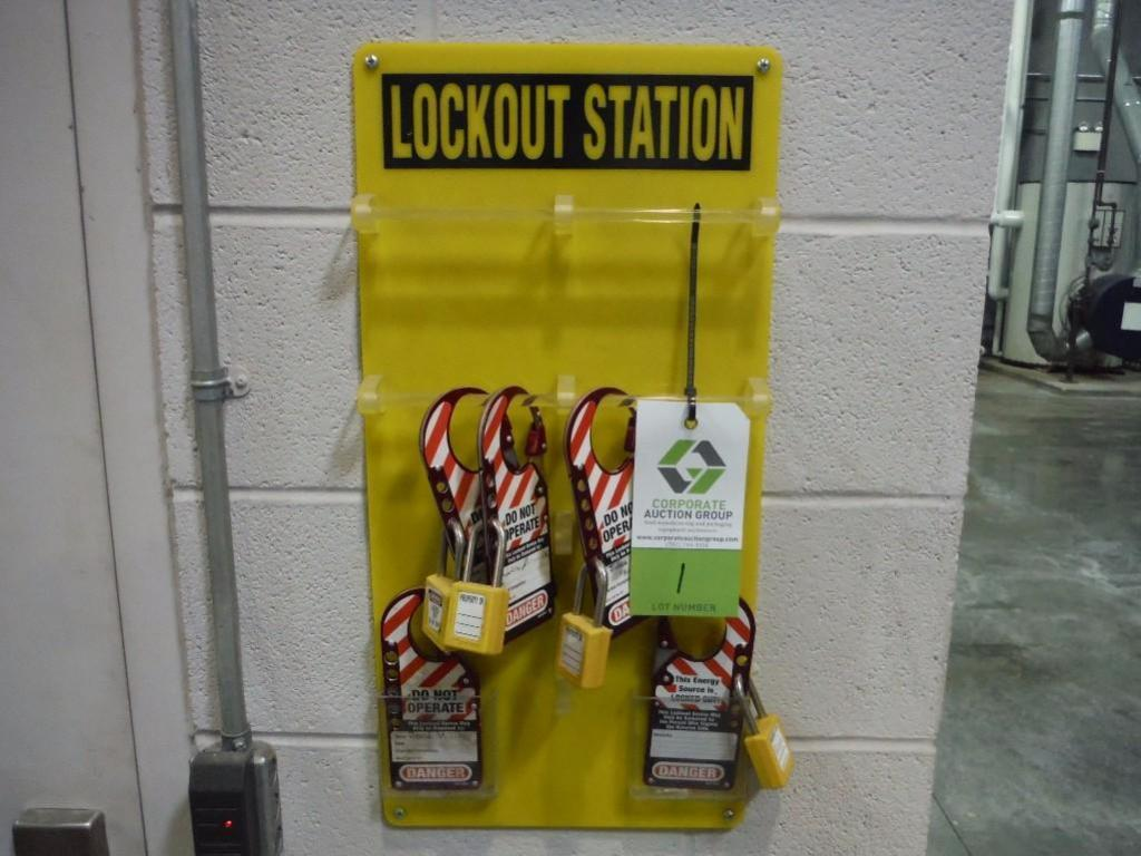Lockout station / Rigging Fee: $20