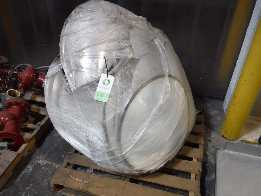 Pallet of circular safety mirrors / Rigging Fee: $25