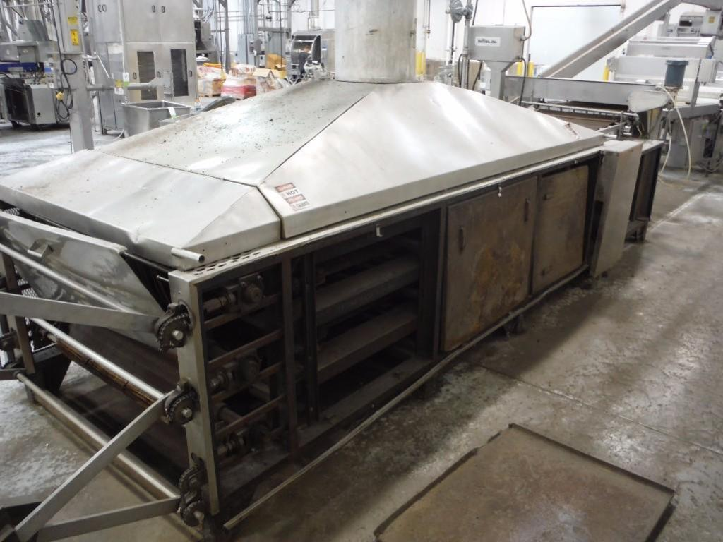 Casa Herrera oven, 144 in. long x 36 in. wide x 40 in. tall, with infeed conveyor, Model DC0-150, SN - Image 6 of 6
