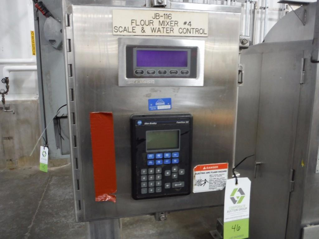 SS hopper feed system with SS control panel with Rice lake weigh systems control, and Allen-Bradley - Image 4 of 4