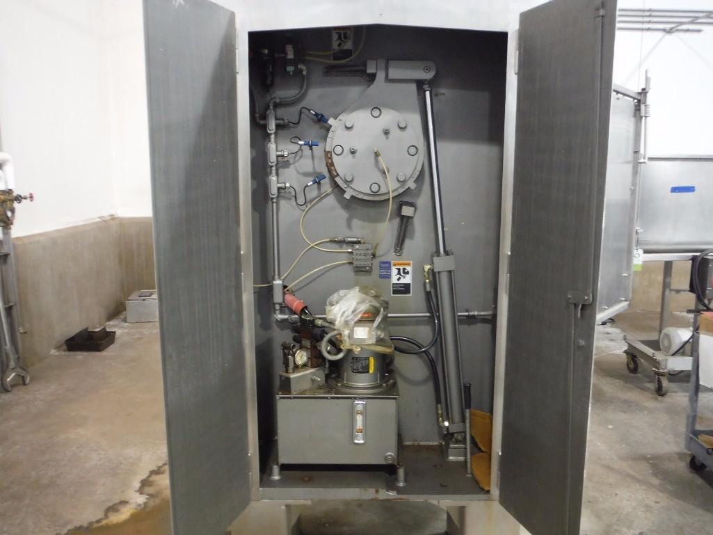 SS Peerless rollerbar mixer, Model HS10FD, SN 205052, with control panel, 75/36.5 hp, Allen- - Image 12 of 12