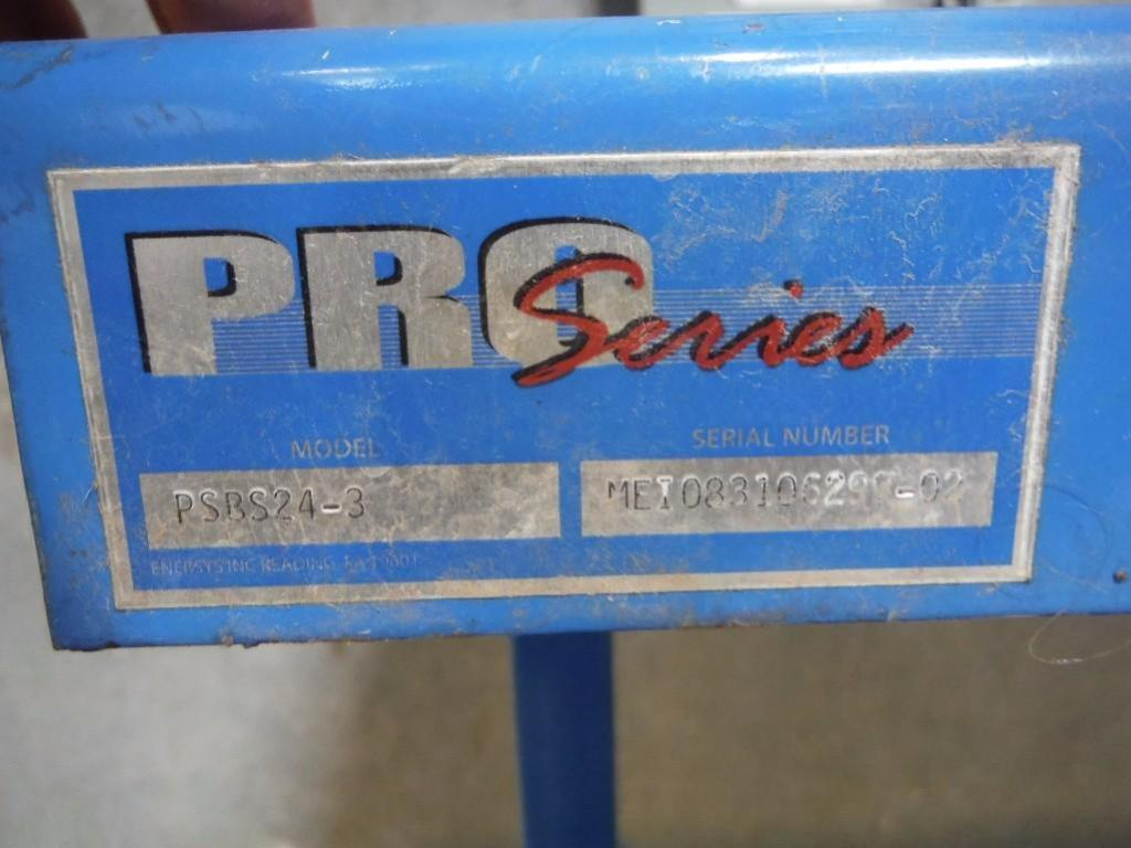 Pro series 3 spot forklift battery station, 74 in. long x 40 in. deep / Rigging Fee: $50 - Image 2 of 2
