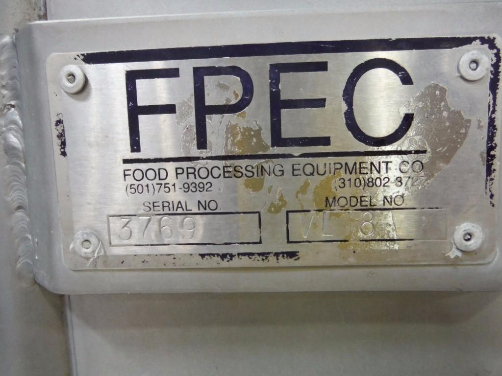 FPEC tote lift, Model VL18, SN 3769, max discharge 12 ft. tall / Rigging Fee: $375 - Image 2 of 5