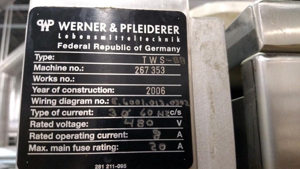 2006 Gemini Divider/Rounder, Type TWS, Machine No 267353/ Rigging Fee: $200 - Image 4 of 4