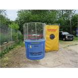 Dunk Tank Trailer mounted - includes bucket of balls, target and activation arm. See Lot 24A Misc. D
