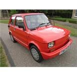 1988 Fiat 126 'BIS' Restored car.