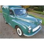1970 Morris Minor Van 6cwt