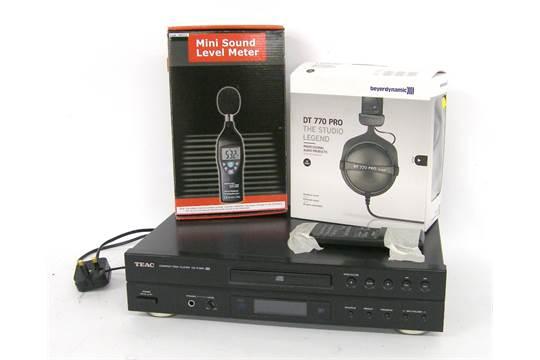 Beyerdynamic DT770 Pro audio headphones, boxed