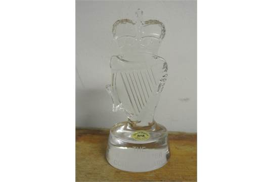 Collectables A Rare Tyrone Crystal Paperweight In The Form Of The