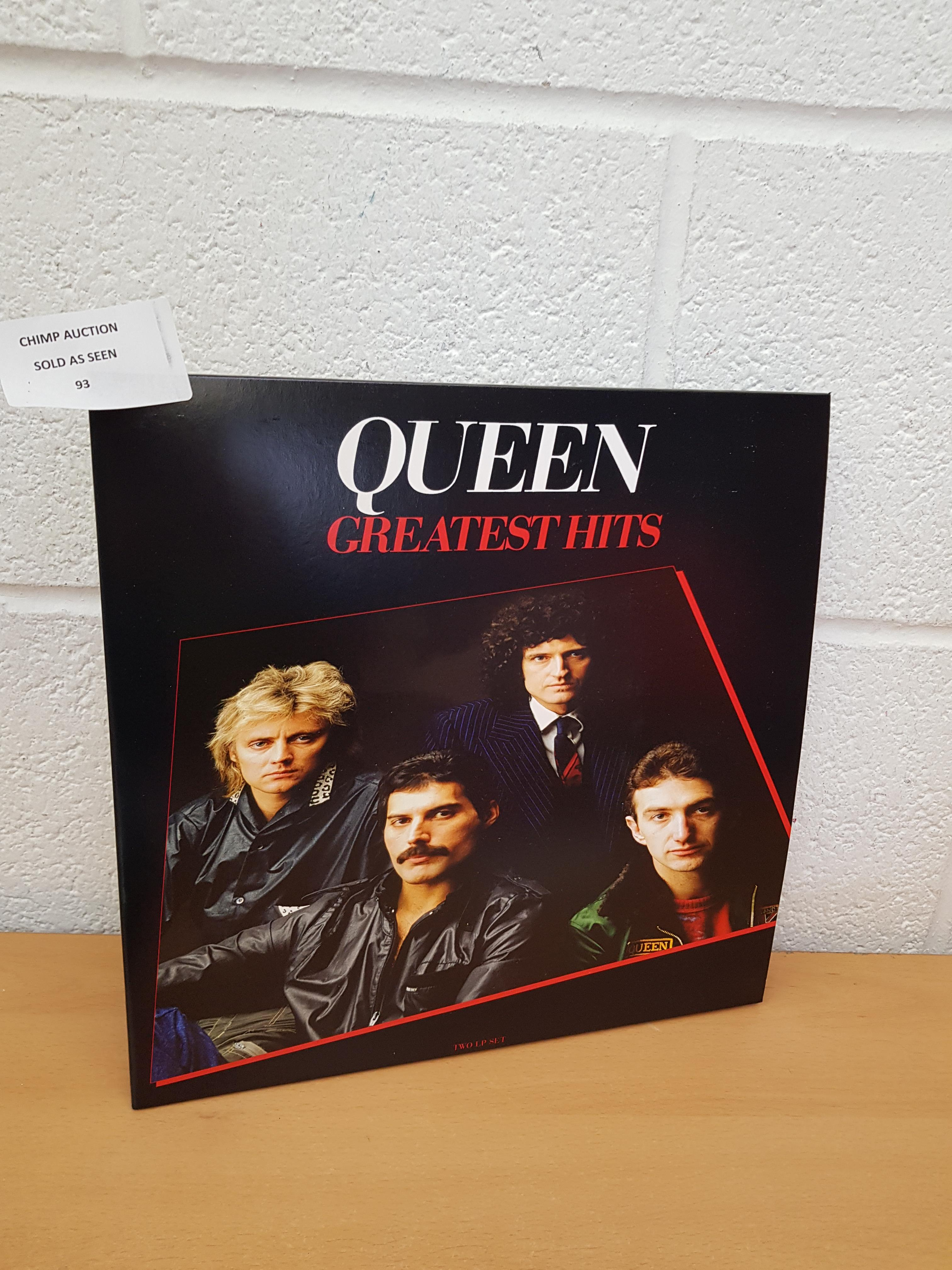 Lot 93 - Greatest Hits 1 Double Vinyl, Remastered By Queen