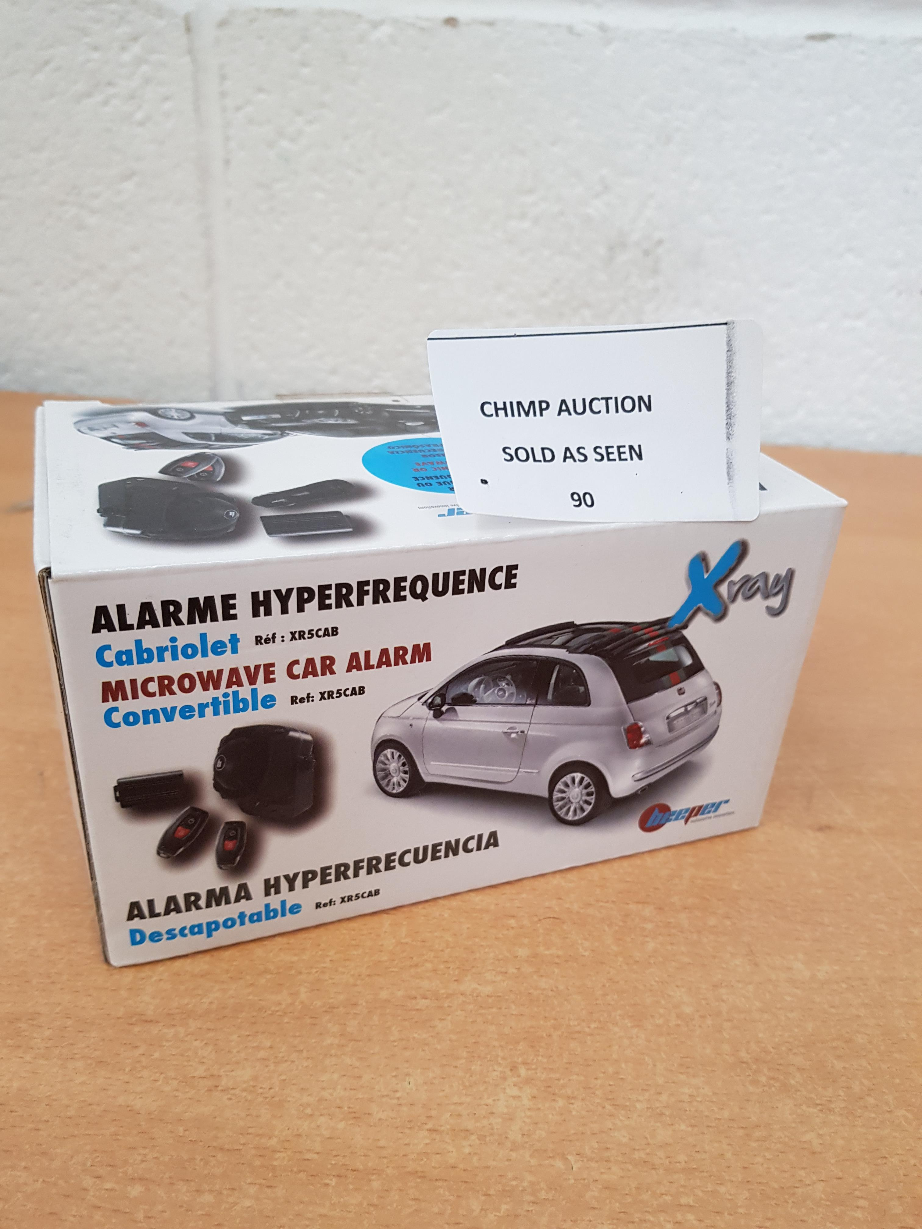 Lot 90 - Alarm In-Car security System