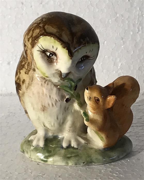 Lot 35 - 'Old Mr Brown' Beatrix Potter Owl