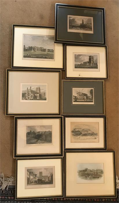 Lot 16 - Nine Various East Yorkshire Prints