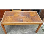 Retro Vintage Tiled Coffee Table NO RESERVE