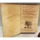 Antique 3 Volumes 1663 Michaelis Alfordi Annales Ecclesiastici Et Civiles Britannorum