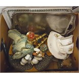 Vintage Box Paperweights Glass Portmerion & More NO RESERVE