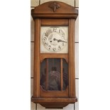Antique Vintage Wall Clock With Possible Russian Connection