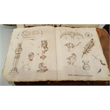 Antique 1655 Drawings Signed Edward Knotts Possibly A Jesuit Priest