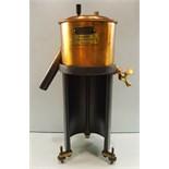 Antique Vintage Early 20th Century Scientific Equipment. Redwood Viscometer No. 4864 In Wooden Case
