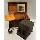 Vintage Retro Scientific Instrument The Ashdown Rotoscope In Original Box.
