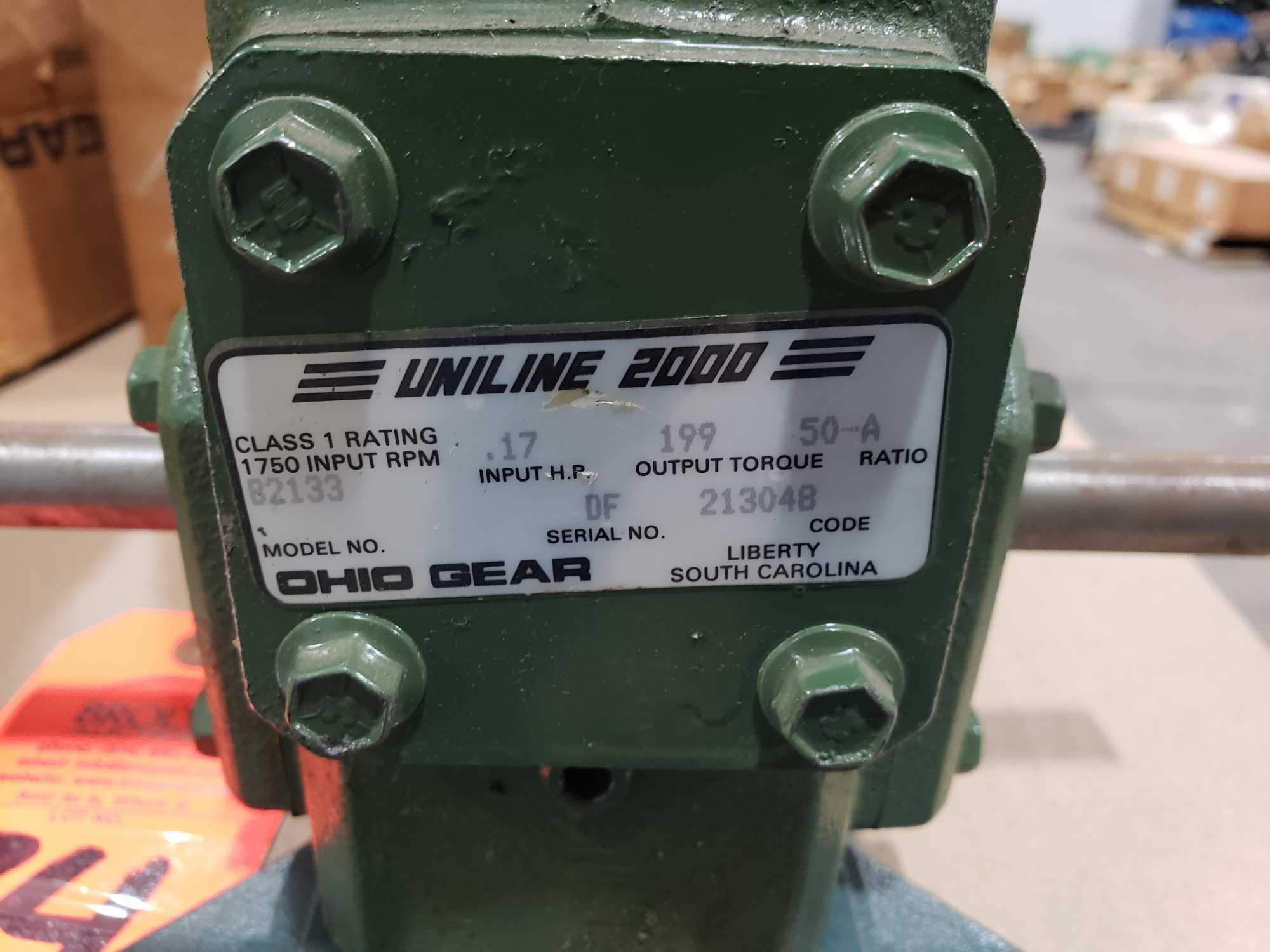 Lot 34 - UniLine 2000 Ohio Gear model B2133, ratio 50-A. New without box.
