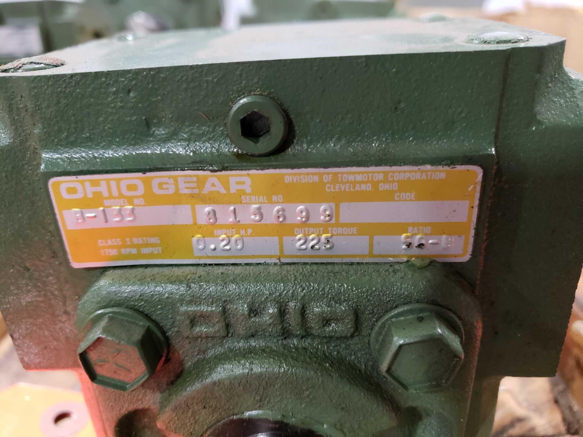 Lot 25 - B133 Ohio Gearbox. Ratio 50 B. New in box.