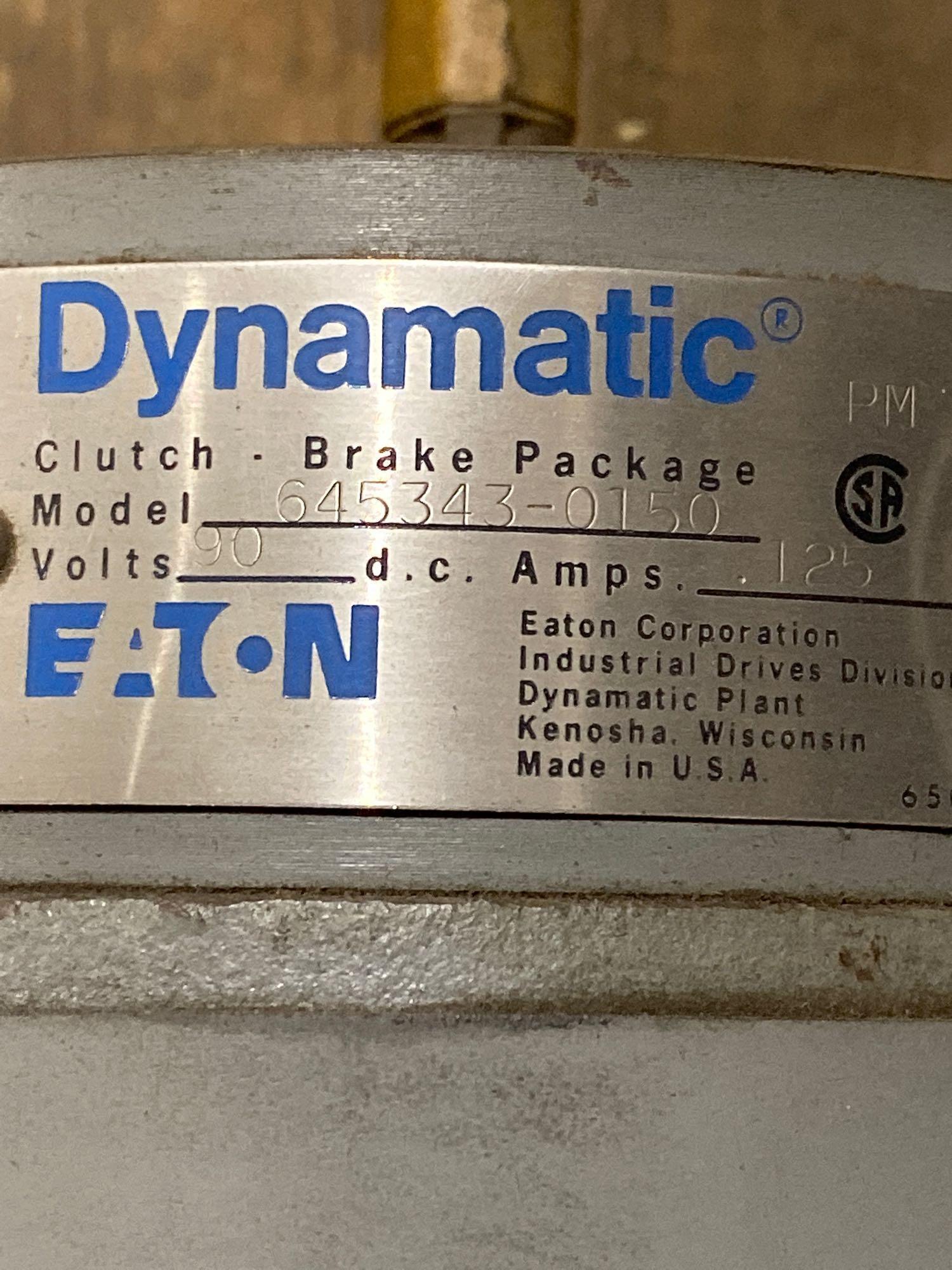 Lot 16 - Eaton Dynamatic Clutch Brake package. Model 645343-0150. New with minor shelf wear.