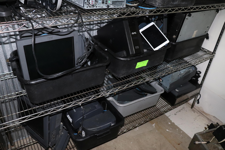 Lot 125 - 2 Shelves POS Equipment