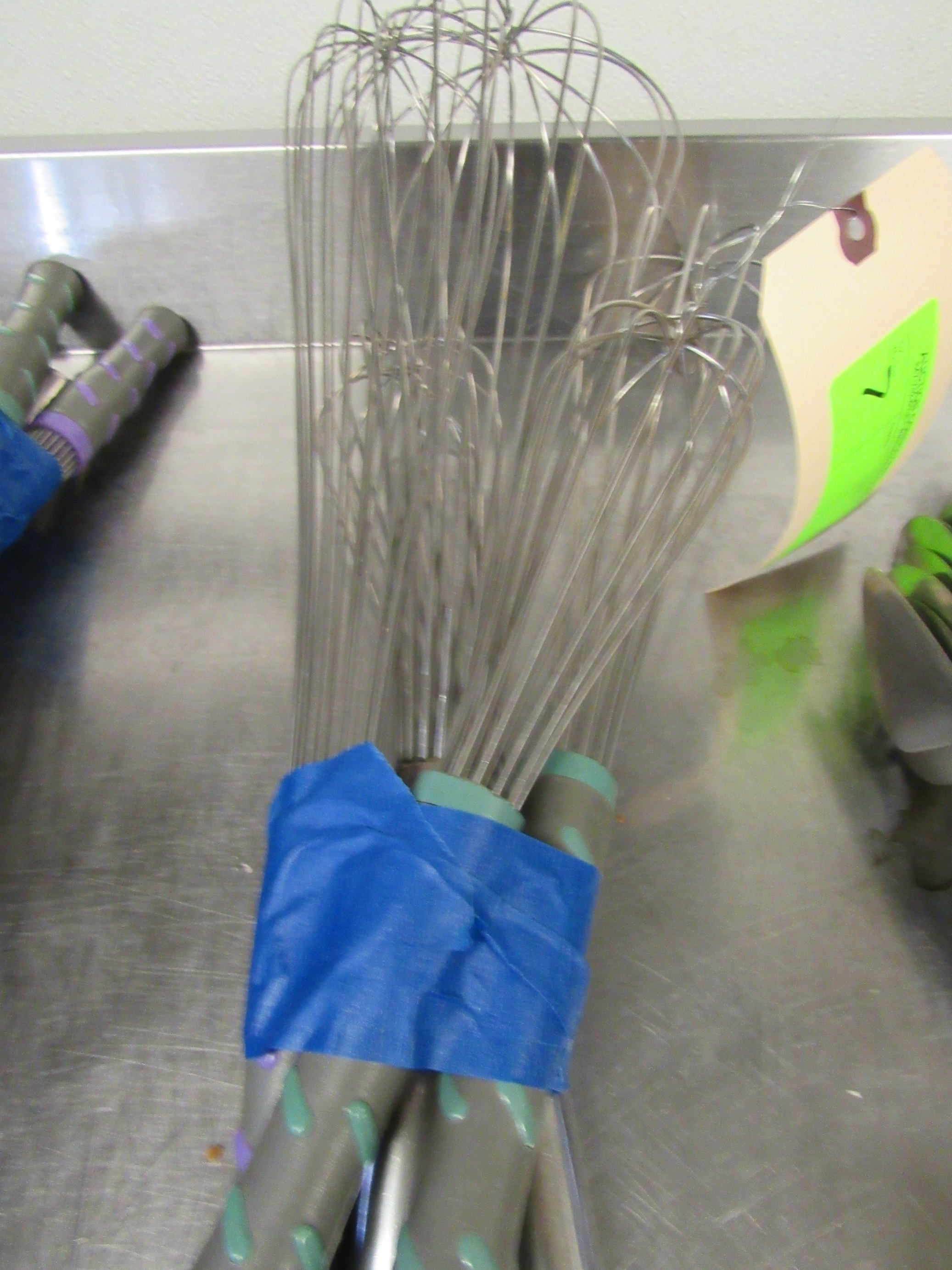 Lot 7 - Group of whisks