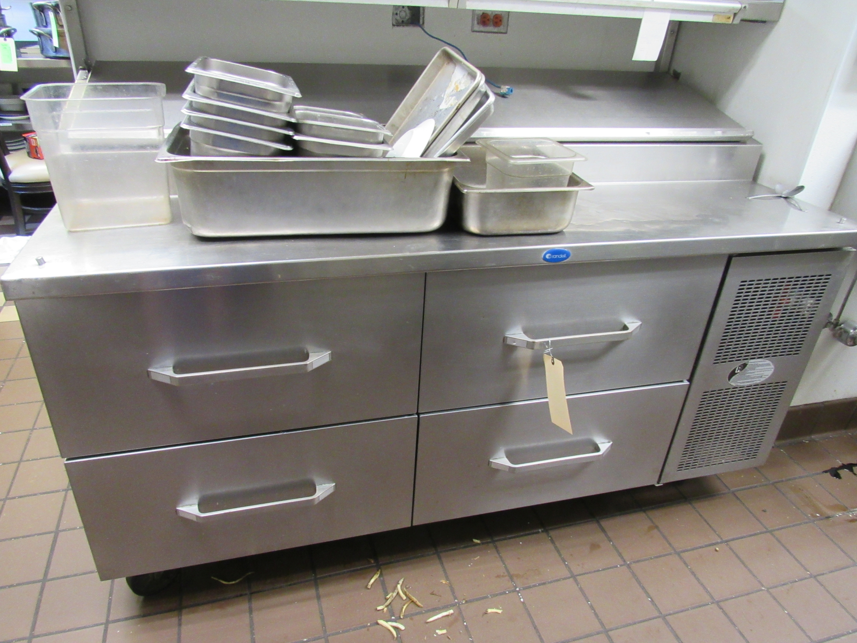 """Lot 70 - Randell 68"""" with four drawers"""