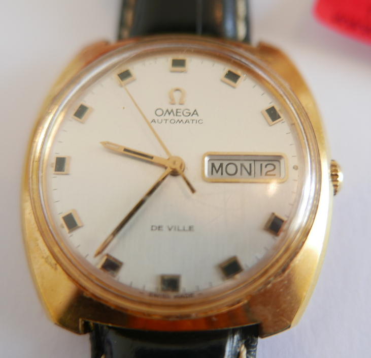 Vintage Omega Automatic Gold Plated De Ville Gents Wristwatch. - Image 2 of 3