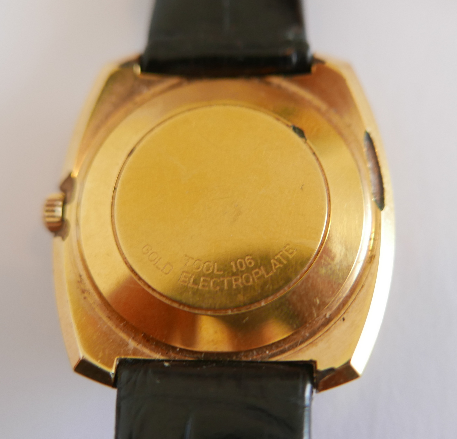 Vintage Omega Automatic Gold Plated De Ville Gents Wristwatch. - Image 3 of 3