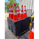 180 UNUSED SAFETY CONES