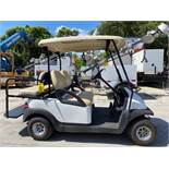 CLUB CAR ELECTRIC 4-SEATER GOLF CART, BATTERY CHARGER INCLUDED