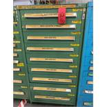STANLEY VIDMAR 9 DRAWER PARTS CABINET