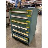 STANLEY VIDMAR 6 DRAWER PARTS CABINET