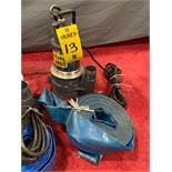 MUSTANG MP4800 SUBMERSIBLE PUMP WITH HOSE