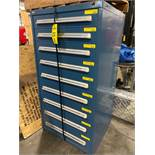 STANLEY VIDMAR 9 DRAWER PARTS/TOOL CABINET