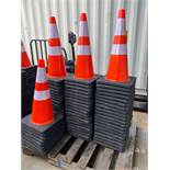 69 UNUSED SAFETY CONES