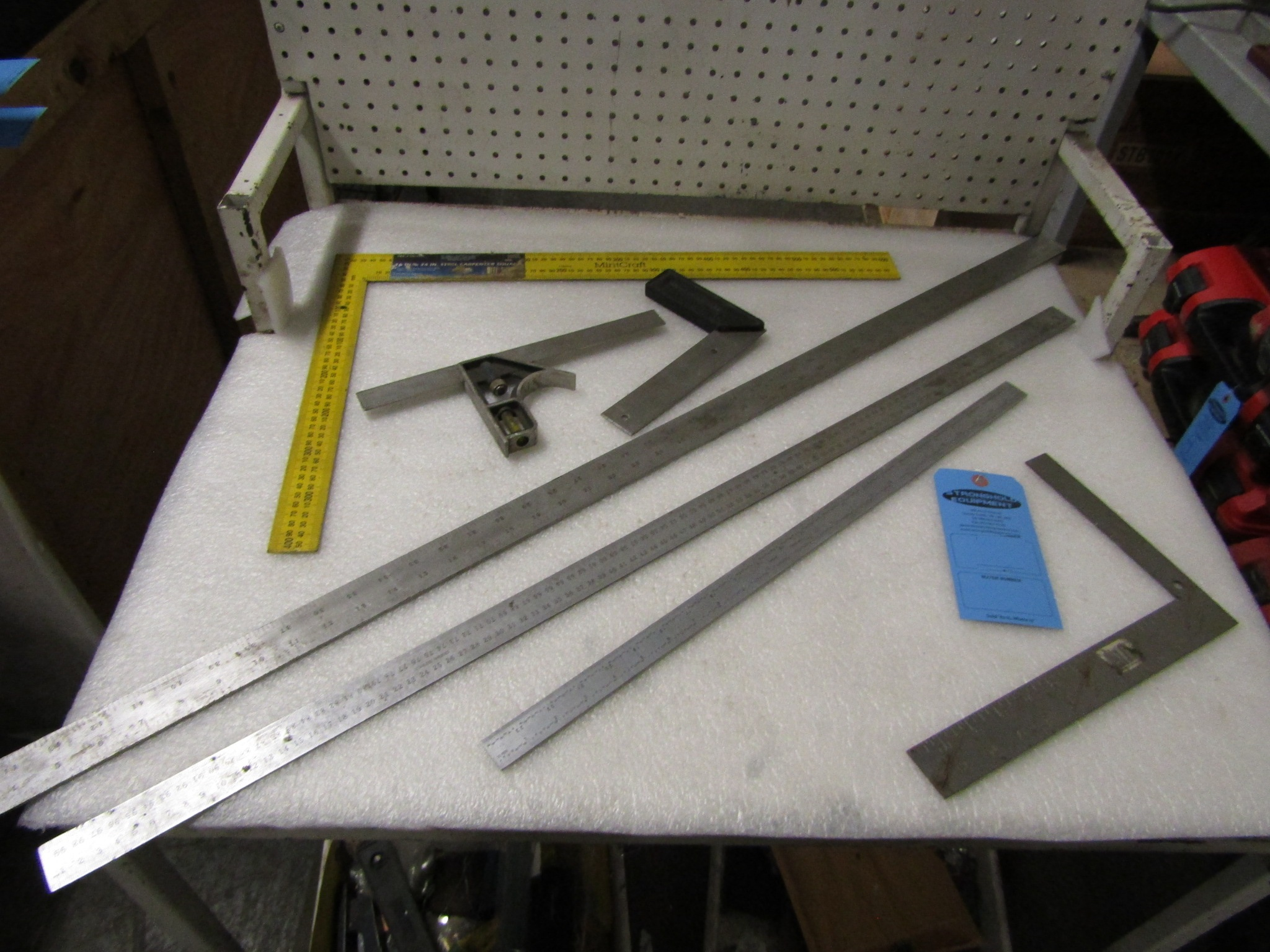 Lot 11 - Lot of Precision Measruing tools including precision squares