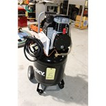 Lot 5 - AIR COMPRESSOR, HUSKY, 10 gal., 1.5 HP, 135 max. PSI, 460 V/3 phase