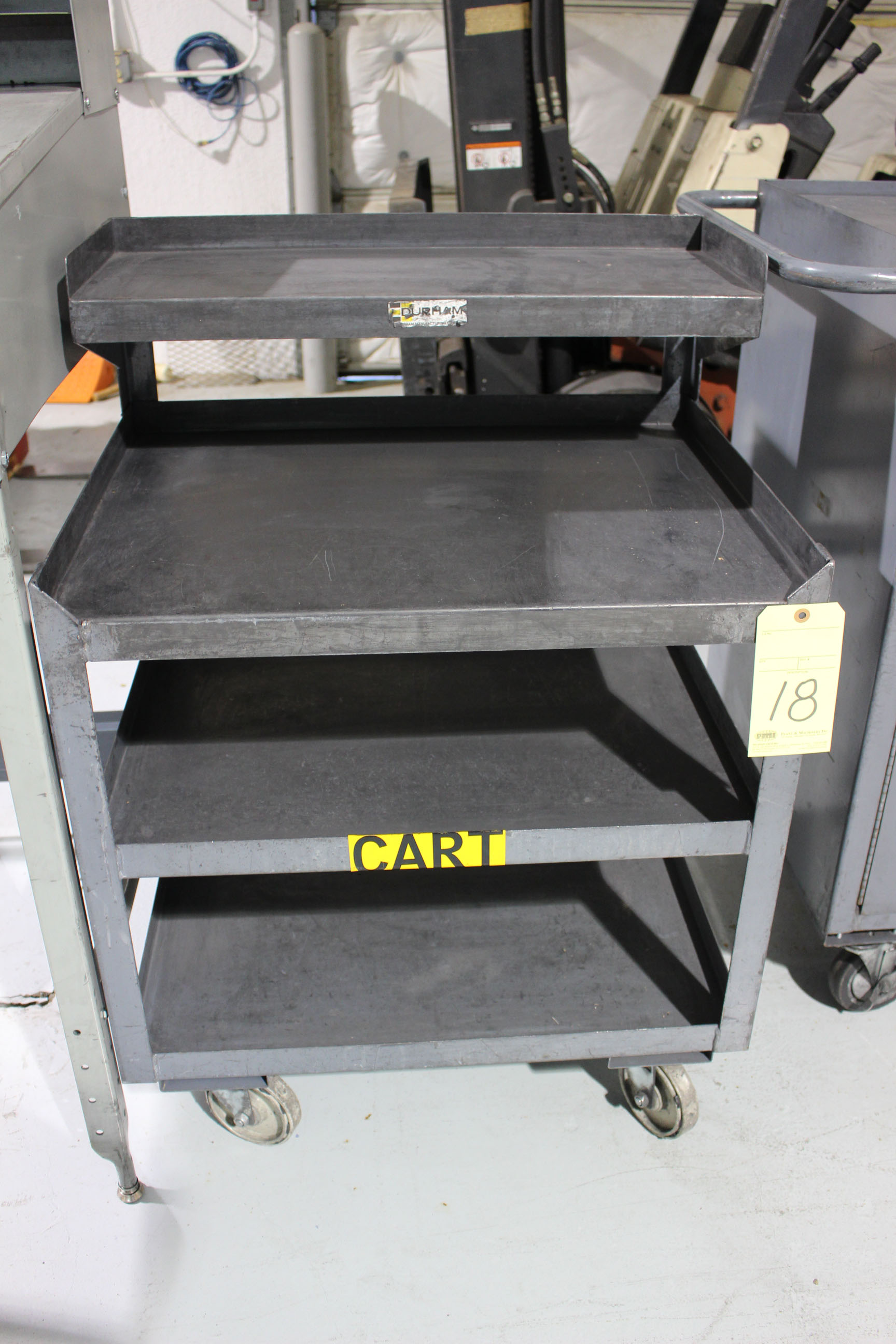 Lot 18 - ROLLING CART, 3-tier