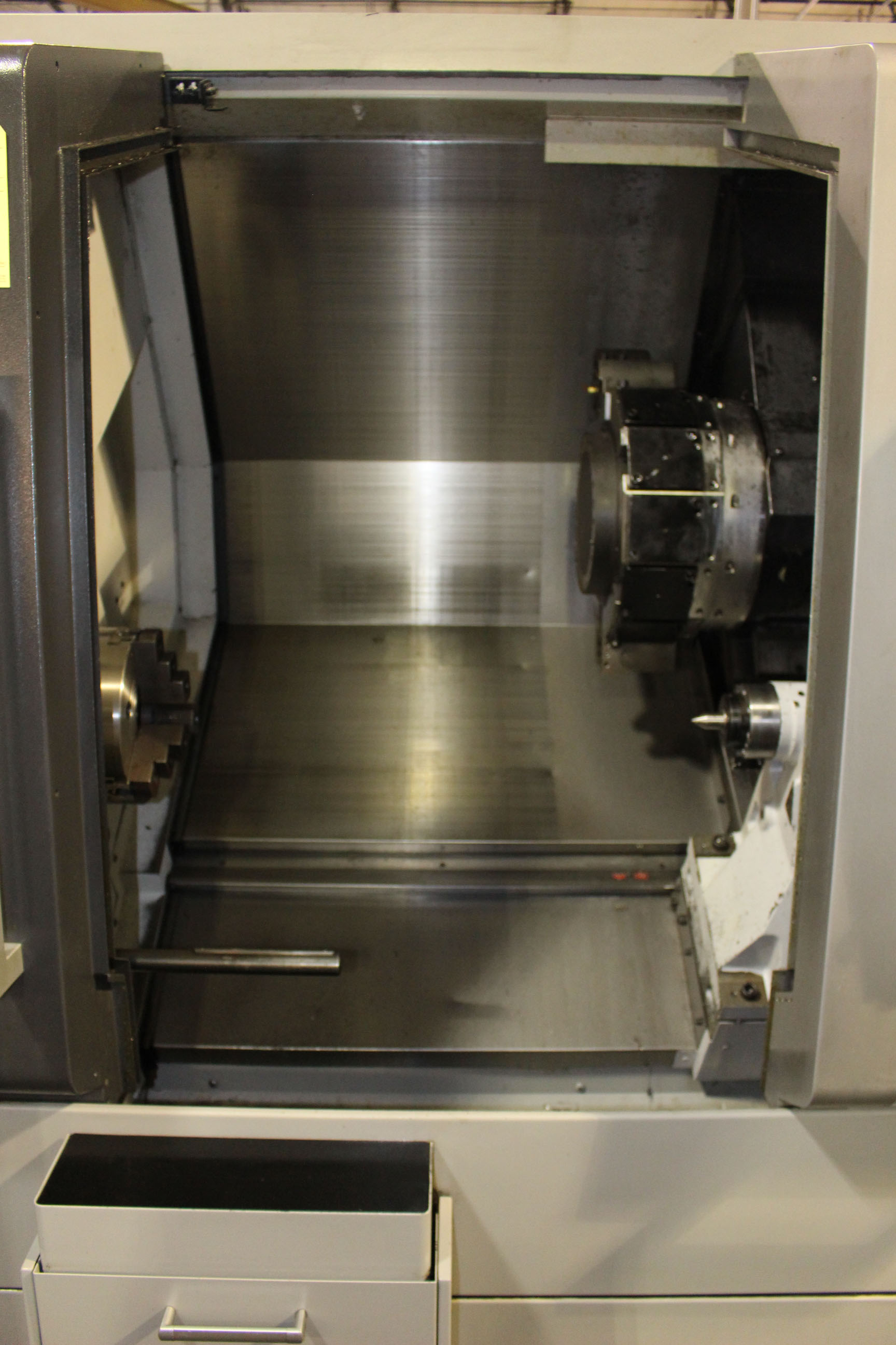 Lot 27 - CNC LATHE, MORI SEIKI MULTI-AXIS MDL. NLX2500Y/700, new 6/2012, Mori Seiki 720BM CNC control, 36.