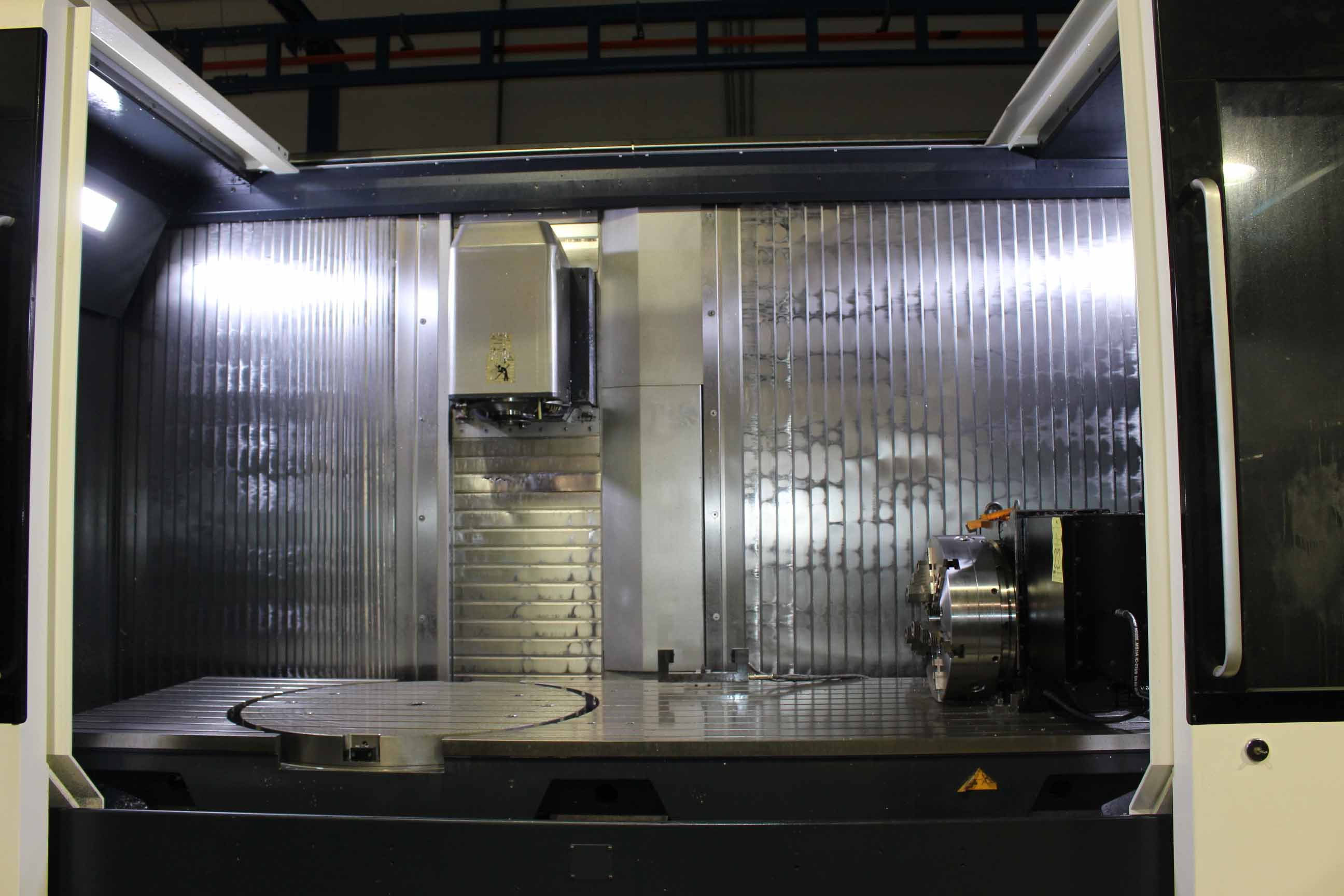 Lot 21 - TRAVELING COLUMN VERTICAL MACHINING CENTER, DECKEL MAHO MDL. DMF260/11, new 2013, Siemens ERGOline