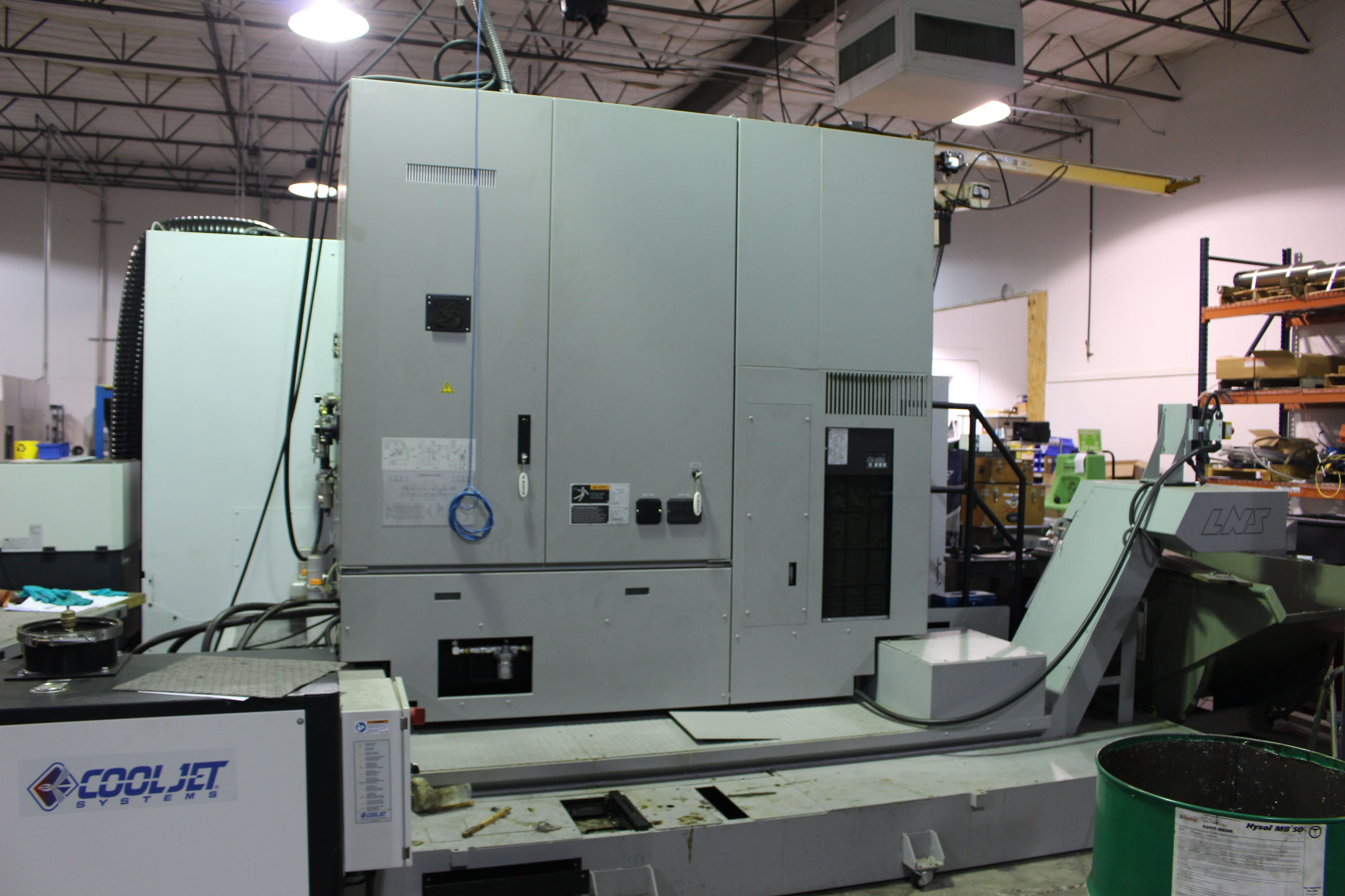 Lot 25 - VERTICAL MACHINING CENTER, MORI SEIKI MDL. NVX7000/50 4-AXIS, new 6/2014, DMG Mori FOIMD CNC control