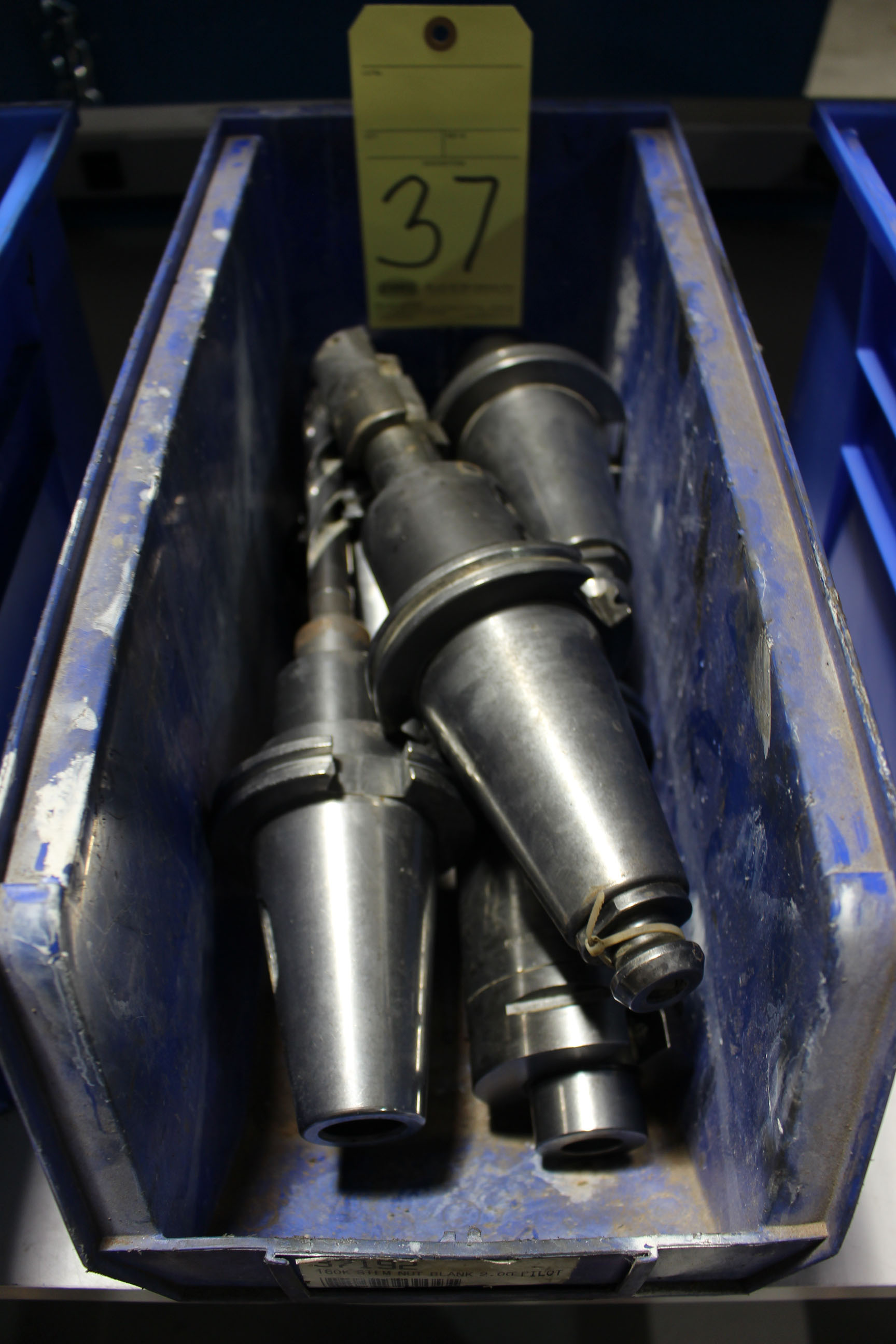 Lot 37 - LOT OF CAT-50 TOOLING, approx. 5 (in one bin)
