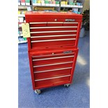 Lot 3 - TOOLBOX, WATERLOO, 12-drawer