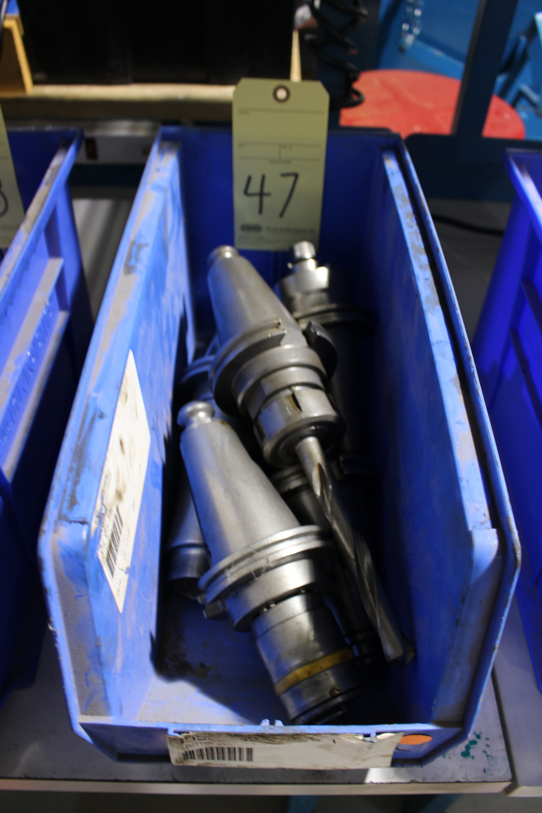 Lot 47 - LOT OF CAT-50 TOOLING, approx. 5 (in one bin)
