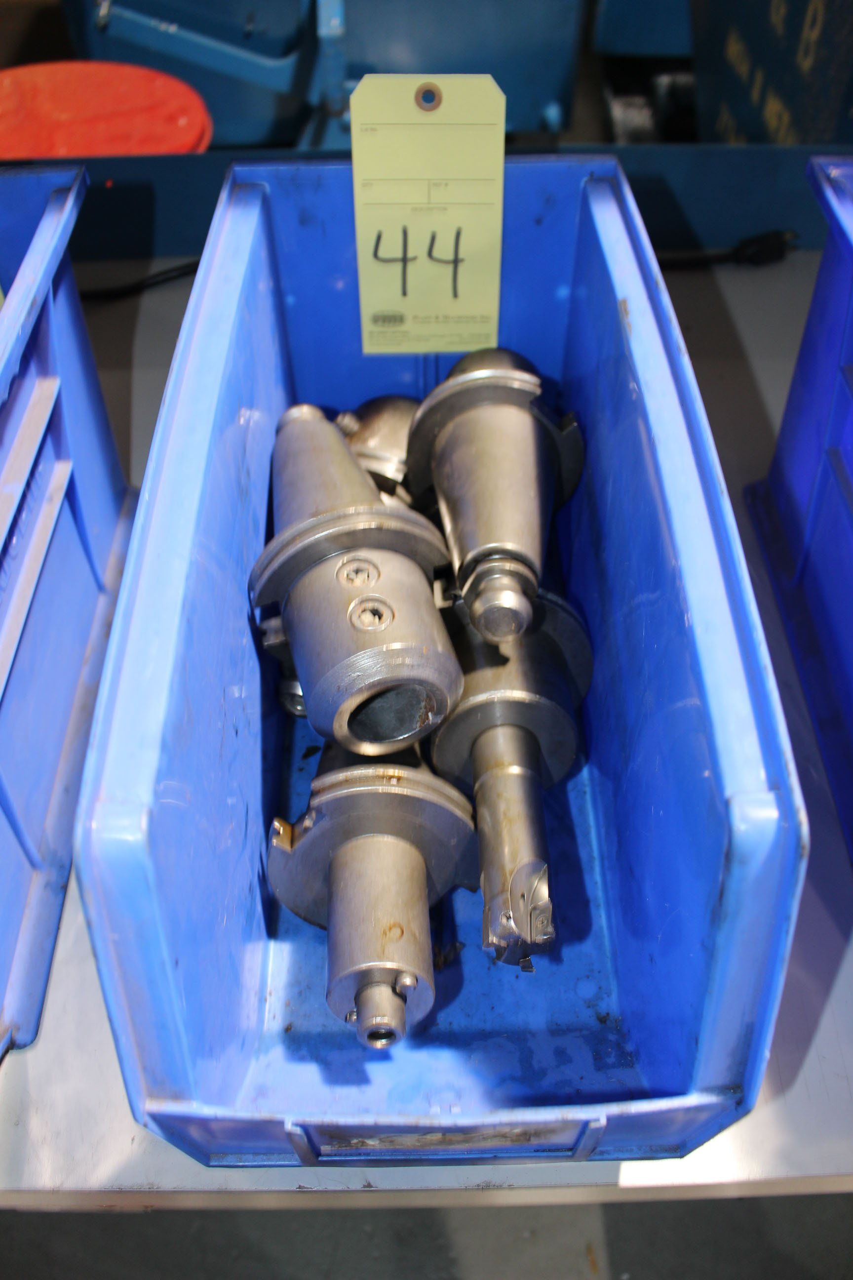Lot 44 - LOT OF CAT-50 TOOLING, approx. 5 (in one bin)