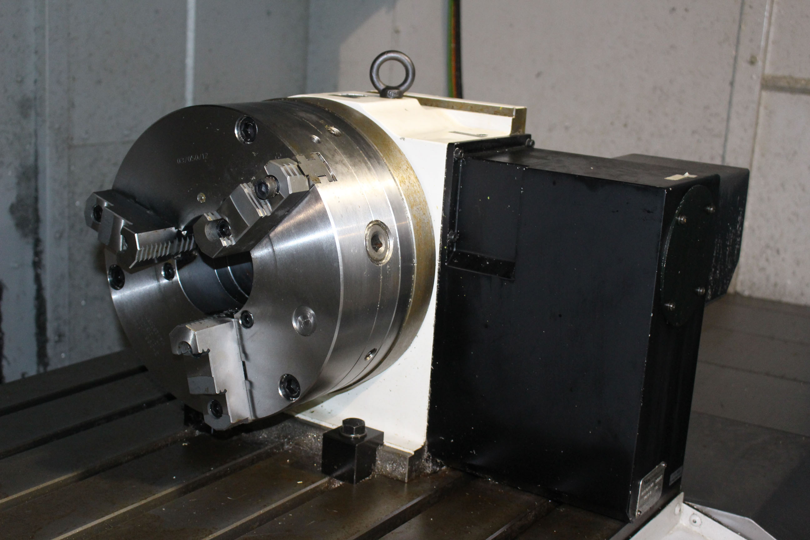 Lot 25 - VERTICAL MACHINING CENTER, MORI SEIKI MDL. NVX7000/50 4-AXIS, new 6/2014, DMG Mori FOIMD CNC control